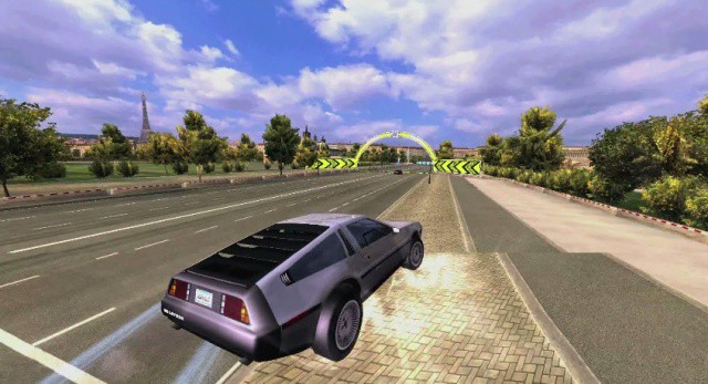Great Scott! Asphalt 7: Heat lets you race in Doc. Brown's DeLorean.