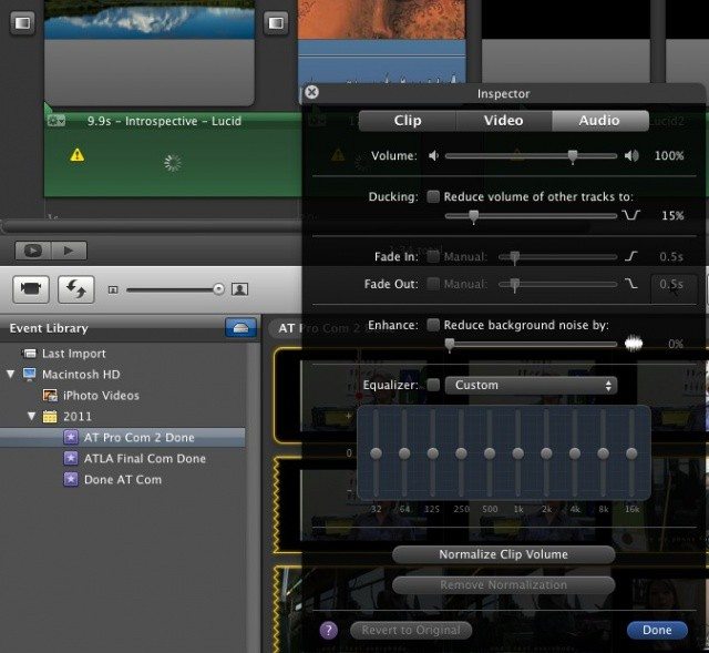 Make These Audio Tweaks To Improve Your iMovie [OS X Tips] | Cult of Mac