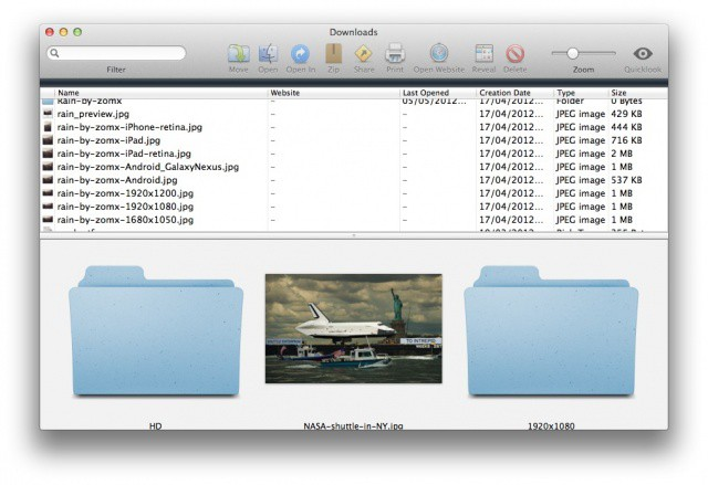 Is you downloads folder out of control? Use Downloads for Mac to tame it.