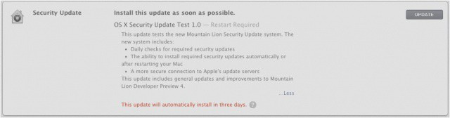 Apple is getting serious about security for Mountain Lion.