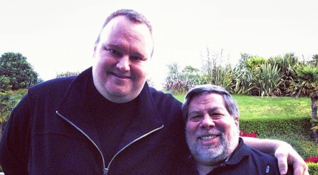 Steve Wozniak's Recent Meeting With Kim Dotcom.