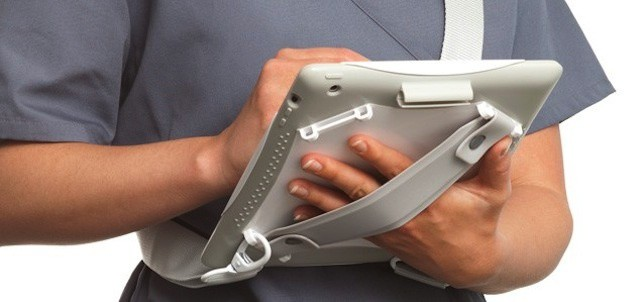 Griffin's AirStrap Med case makes the iPad more physician-friendly