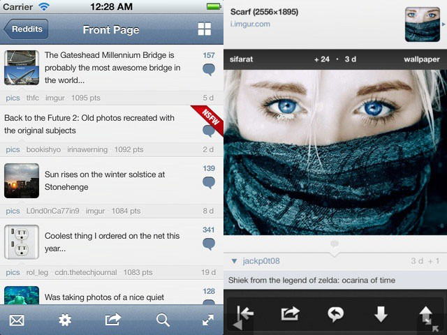 Alien Blue gets tons of new features in version 2.6.