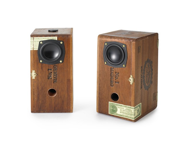 Cigar box speakers 1