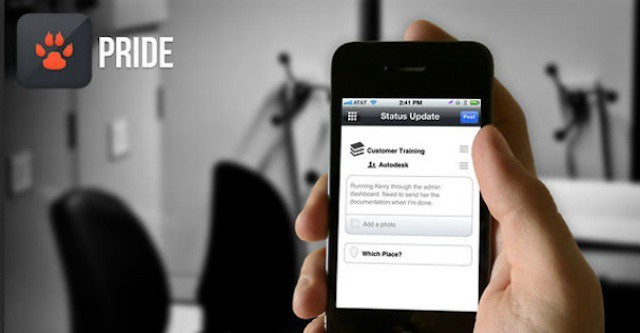 Pride's simple setup and ease of use make it an ideal social network for businesses