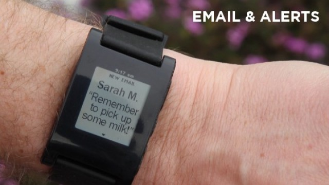 Reading text messages on your Pebble was previously unsupported by the iPhone.
