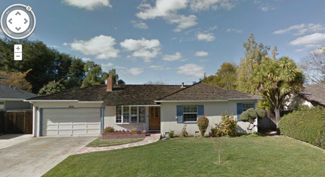 The house where Apple first started in Los Altos.