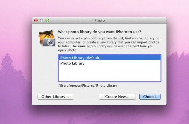 Move Your iPhoto Library To An External Drive To Save Space