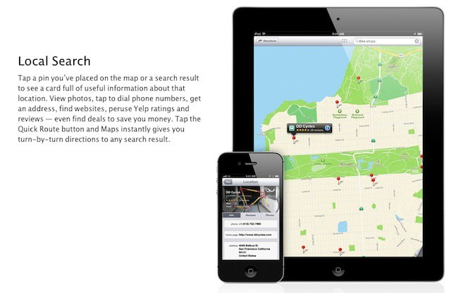 iOS 6 offers huge potential for local businesses to attract and retain customers
