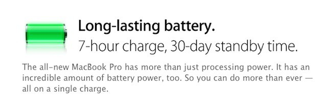 The new MacBook Pro highlights Apple's battery design know how