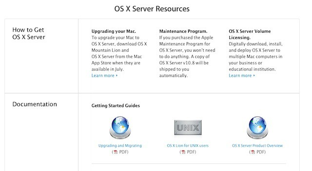 Apple offers an early glimpse into Mountain Lion Server and Mountain Lion Mac management