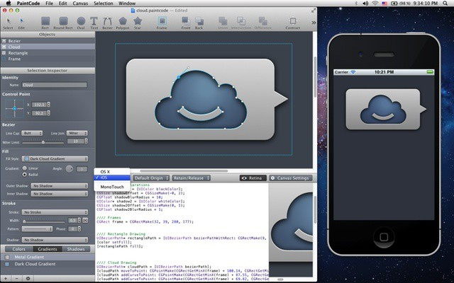 PaintCode App Converts Vector Graphics Into iOS OS X Code ...