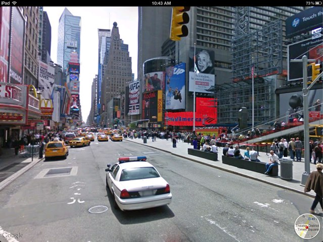 Google knows how much we love Street View.