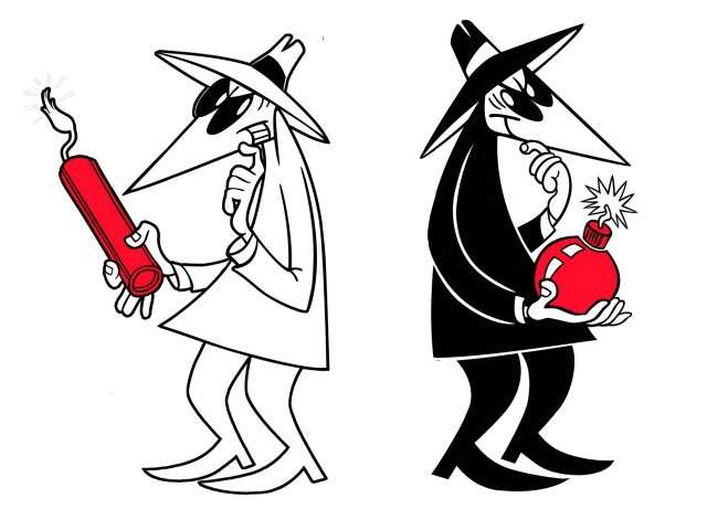 The CIA is gunning for Apple's security. Photo: Spy vs. Spy