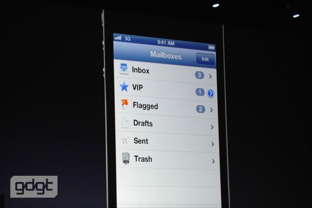 how to add new mailbox to iphone