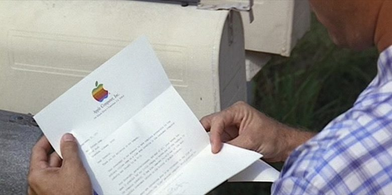 Forrest Gump finds out he owns part of Apple