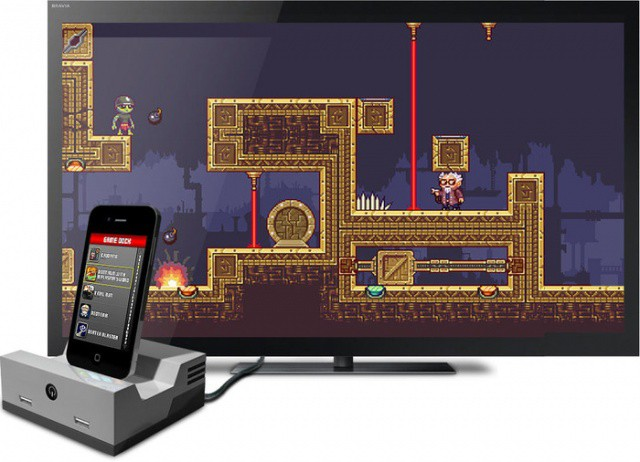 Turn your iOS device into a classic console with the GameDock.