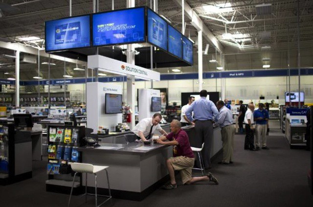 First Microsoft, and now Best Buy.