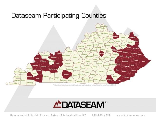 Dataseam Map Aug 2013