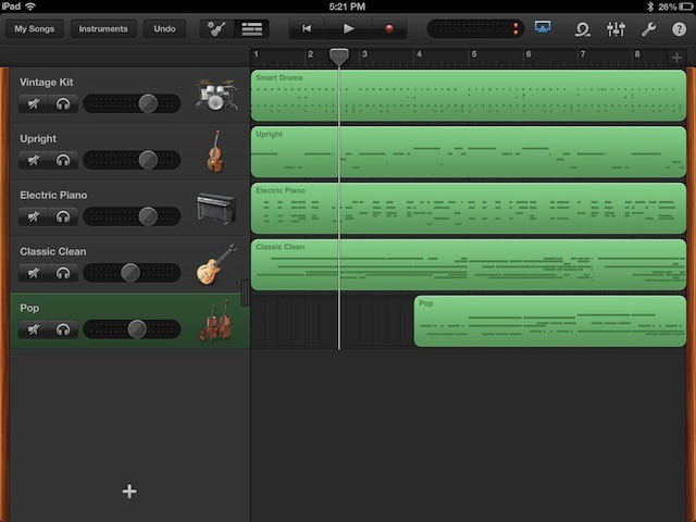 Mixdown And Share Your Musical Genius With Garageband For