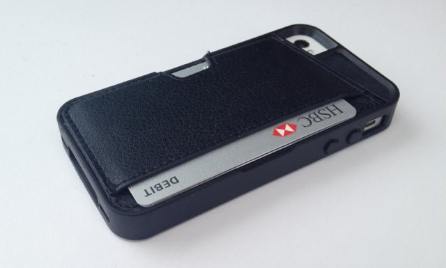 Keep your credit cards safe with the Q Card Case for iPhone.