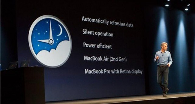 Apple unveiled Power Nap in Mountain Lion during the WWDC conference in June.