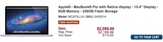 Save a small fortune on your new Apple notebook buy ordering from Best Buy.