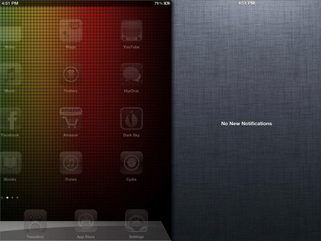 Notification Center makes more sense like this.