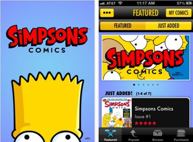 Simpsons-Comics-iOS