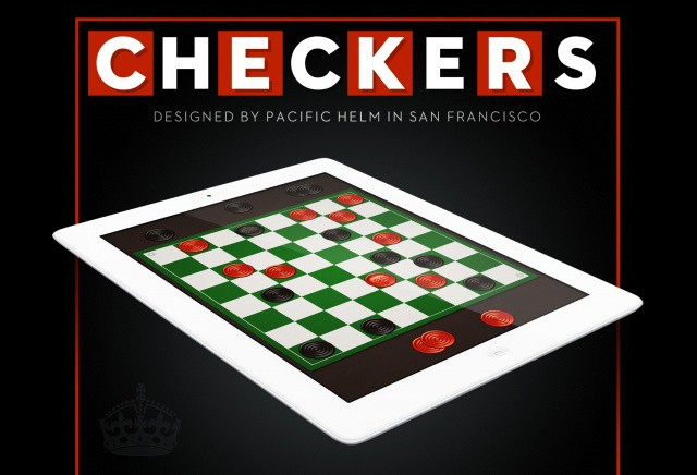 Checkers. On your iPad.