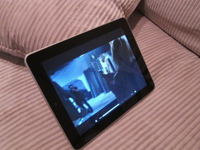 TV on an iPad