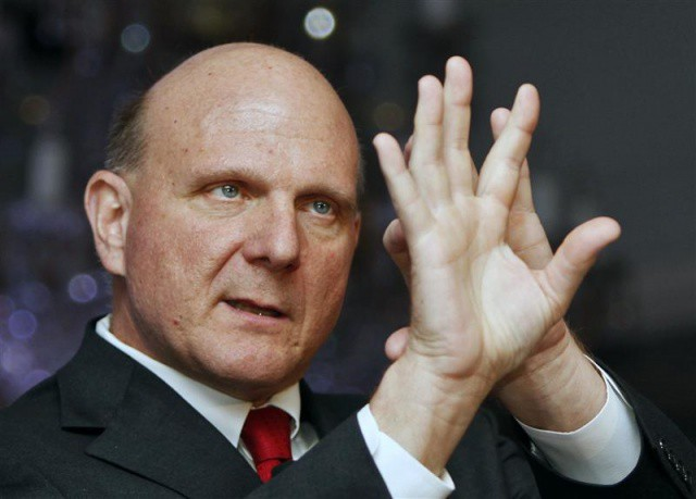 The man, the myth, the sweaty legend: Steve Ballmer