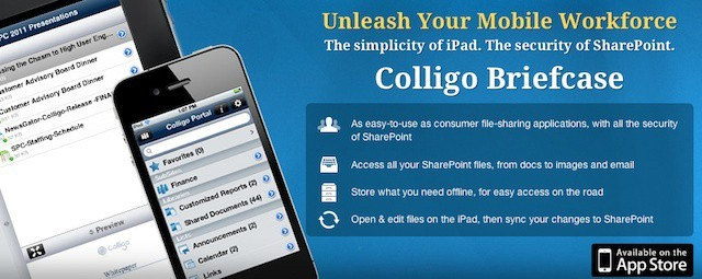 Colligo offers an impressive set of features for accessing and editing SharePoint content on iOS devices.