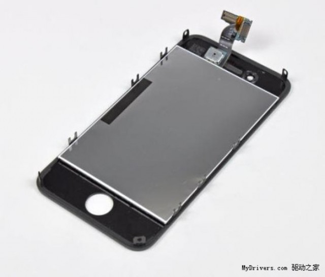 This purported iPhone 5 panel looks a lot like an iPhone 4 panel to us.