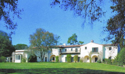 The 14-bedroom mansion that Jobs tore down.