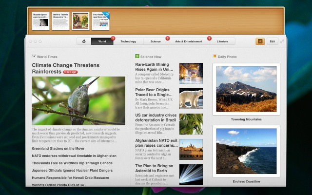 Acrylic Software makes Pulp, a gorgeous Mac and iPad news app.