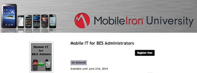 MobileIron now offers free training for BlackBerry IT pros who are considering moving to iOS and other platforms.