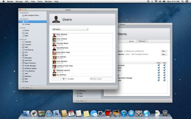 Apple launches Mountain Lion Server for the bargain price of $19.99.