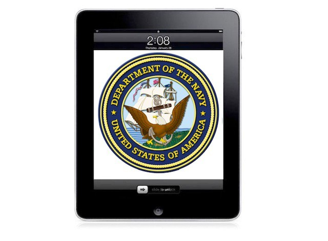 The Navy wants iPads in the Pentagon for executive dining room.