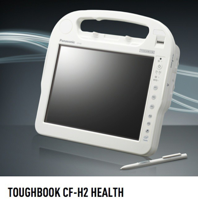 Panasonic hopes to drive the iPad out of healthcare with new 3.48 pound Windows 7 tablet.