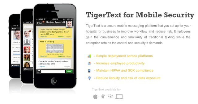 TigerText now offers secure file sharing as well as secure messaging thanks to Dropbox.
