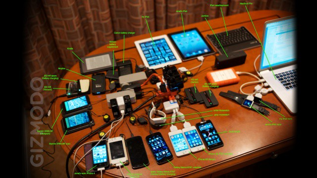 Holy cow! Steve Wozniak carries around $50,000 worth of gear in his gadget bag.