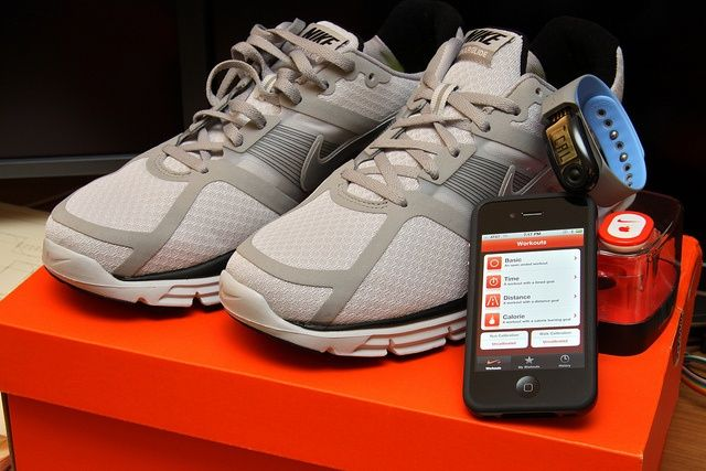 The iPhone is probably the best fitness accessory around. Photo Yutaka Tsutano/Flickr.