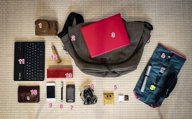 Show us what's in your gadget bag and win an awesome new bag to replace it!