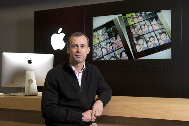 John Browett joined Apple back in April as the successor to Ron Johnson.