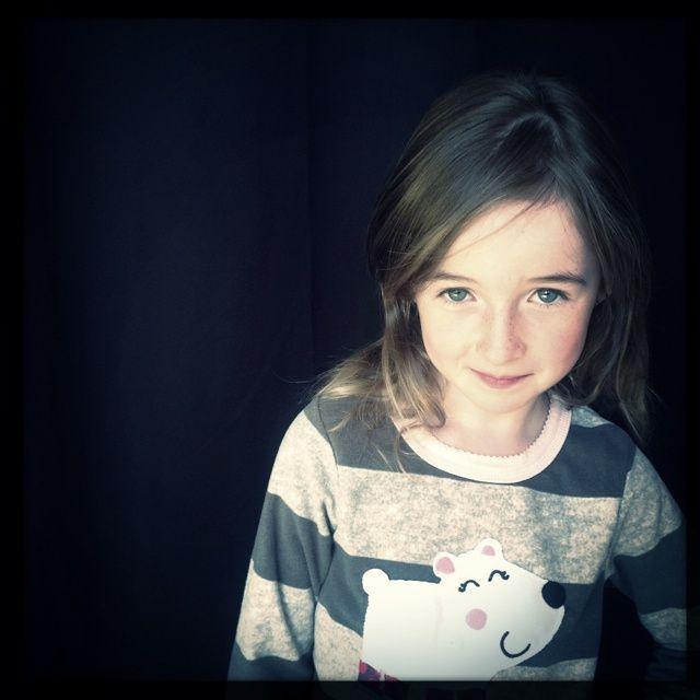 @Peter Ellenby's daughter Ruby plays model.