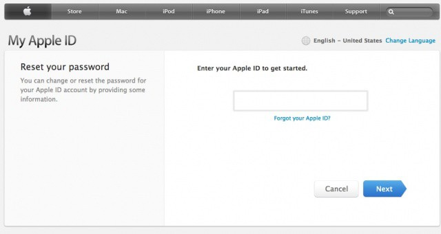 Apple Freezes All Phone Requests To Change AppleID Passwords | Cult