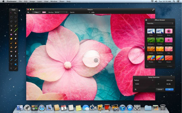 Pixelmator now looks even more incredible on a Retina MacBook Pro.