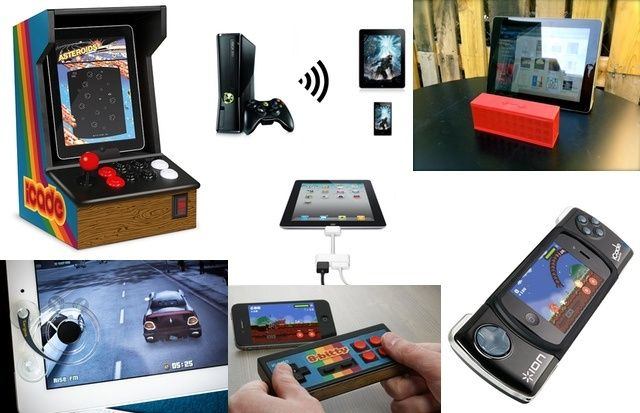 Turn your iDevice into an arcade machine or PSP beater with these amazing accessories.