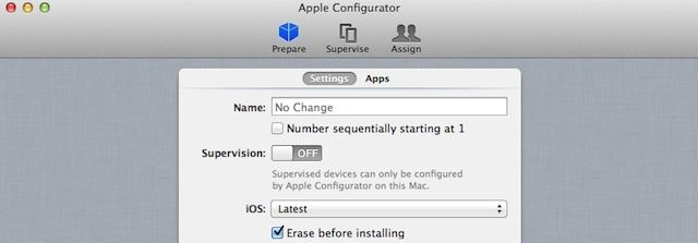 Apple Configurator can handle device backup, spring cleaning, iOS 6 installation, and loading of apps in a few easy steps.